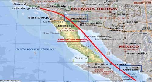 Cual es la Falla de San Andres y su impacto