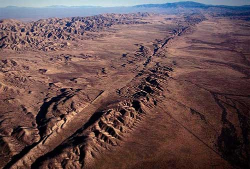 Importancia de la Falla de San Andres en California
